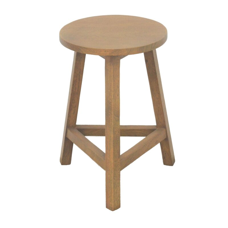 Zakhar Medium Round Accent Stool