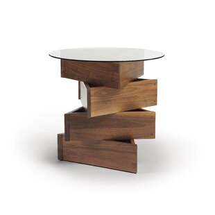 Twist Statements End Table by Copeland Furniture