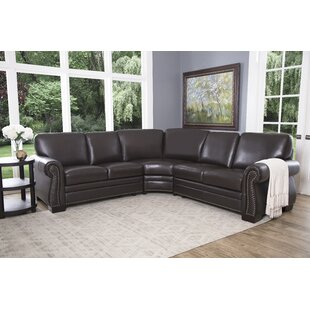Barnabas Leather Symmetrical Sectional
