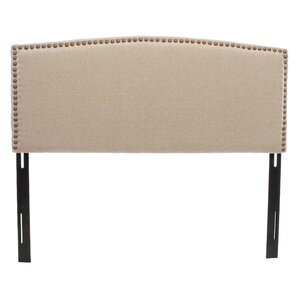 Carlsbad Upholstered Panel Headboard by Home Loft Concepts
