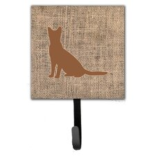 Cat Leash Holder and Wall Hook by Caroline's Treasures