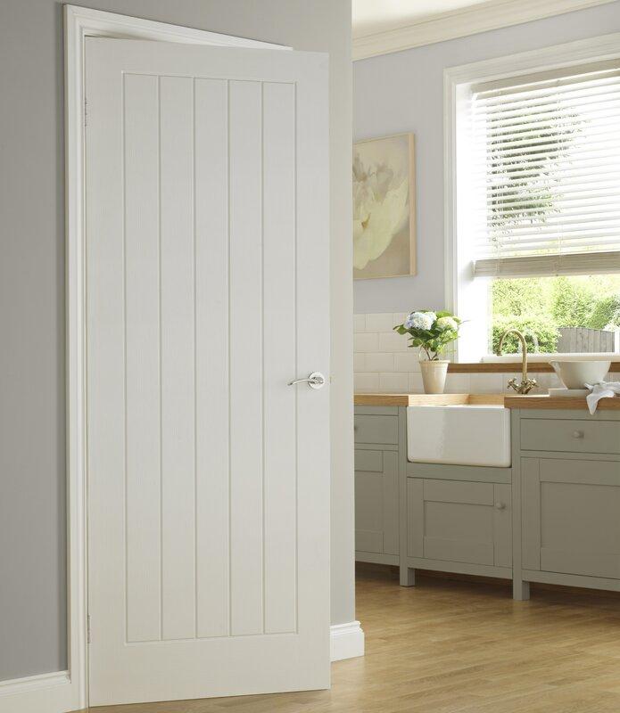 Solid MDF Panelled Slab Internal Door & Premdor Solid MDF Panelled Slab Internal Door \u0026 Reviews | Wayfair.co.uk