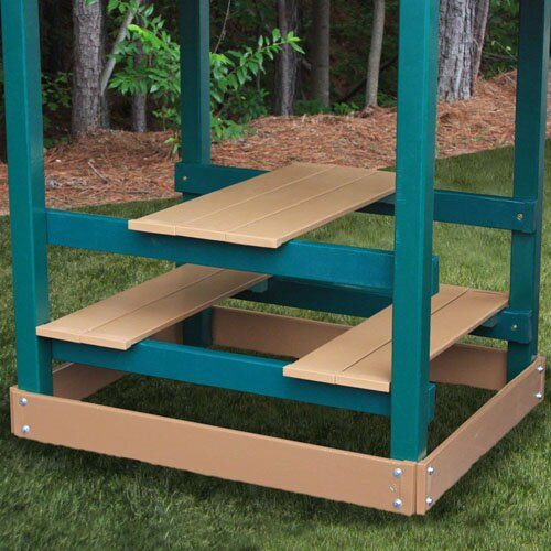 Congo Monkey Green and Cedar Playsystem 3