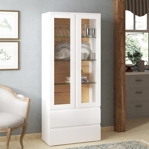 Vitrine Acord Laurel Foundry Farbe: Weiß | Wohnzimmer > Vitrinen > Standvitrinen | Laurel Foundry