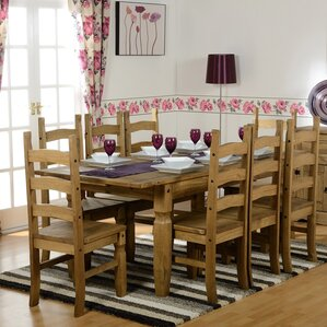 dining room table seats 8. Corona Extendable Dining Set With 8 Chairs Room Table Seats