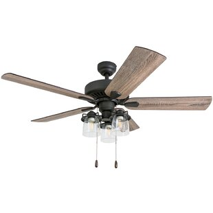 new style ceiling fans space saving 52 farm style ceiling fan wayfair