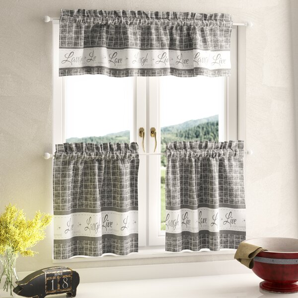 Country Curtains For Kitchen | Wayfair