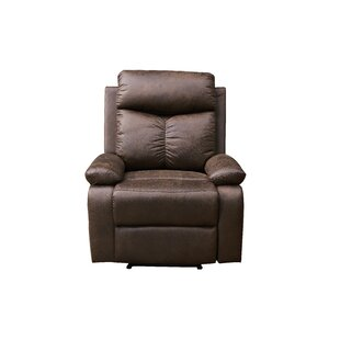 Gennessee Manual Rocker Recliner Red Barrel Studio