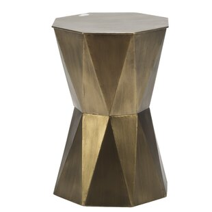 Best Reviews Gage Geometric End Table ByGeorge Oliver