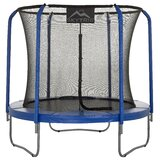 Skytric Trampoline with Top Ring Enclosure System and Easy Assemble Feature byUpper Bounce