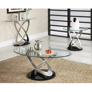Low priced Angello 3 Piece Coffee Table Set ByOrren Ellis