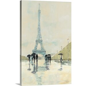 'April in Paris' Painting Print on Canvas by Willa Arlo Interiors