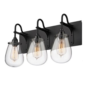 Inexpensive Kiley 3-Light Vanity Light By Williston Forge