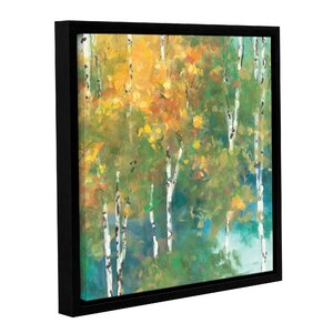 Confetti I Framed Painting Print on Wrapped Canvas by Red Barrel Studio