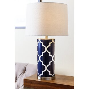 Porcelain table lamps youll love wayfair dearborn 27 table lamp mozeypictures Images