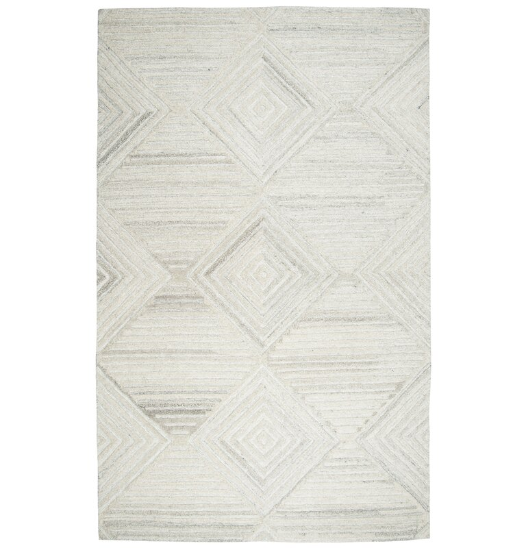 Yucca Place Hand Tufted Ivory Area Rug