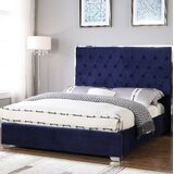 Hungerford Upholstered Platform Bed byEverly Quinn
