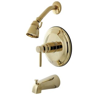 South Beach Pressure Balance Tub and Shower Faucet Trim ByElements of Design
