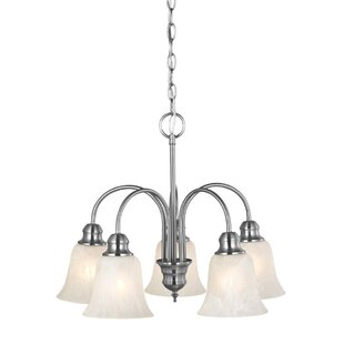 Inexpensive Ridgeway 5-Light Shaded Chandelier By Design House