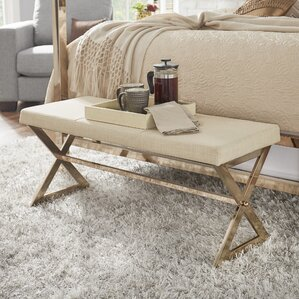 Arvid Upholstered Bench by..