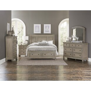 Carleton Sleigh Configurable Bedroom Set ByCanora Grey
