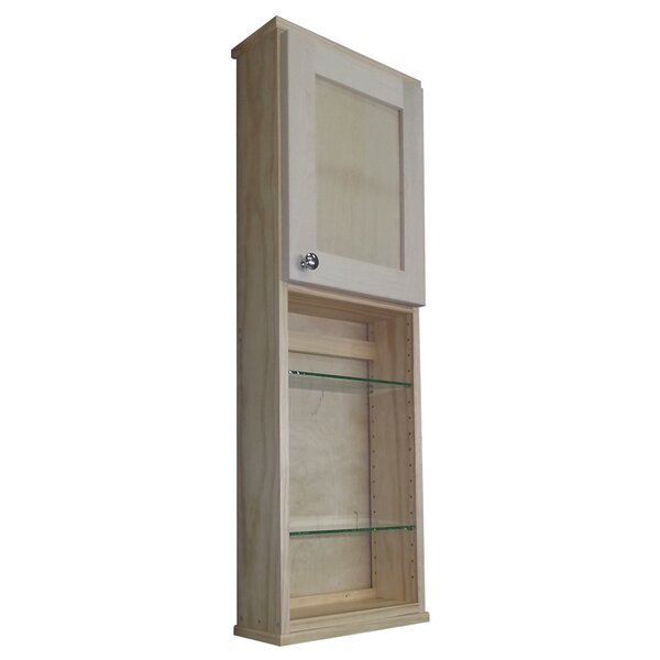 Wg Wood Products Shaker Series 15 Quot X 43 5 Quot Wall Mounted