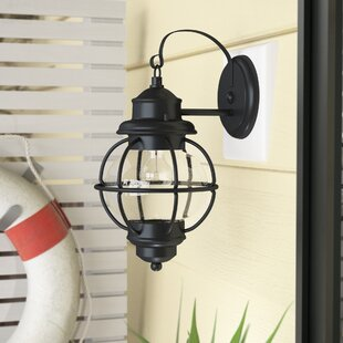 Shop For Cason 1-Light Outdoor Wall Lantern By Beachcrest Home