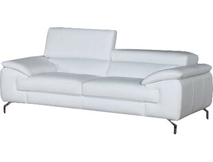 Modern & Contemporary Curved Leather Sofa | AllModern