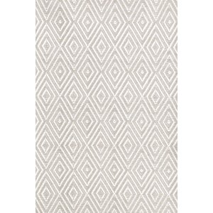Diamond Platinum White Indoor/Outdoor Rug