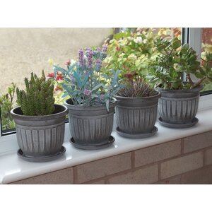 Round Plant Pot (Set of 4)