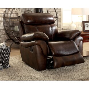 Edford Manual Recliner Darby Home Co