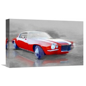 '1970 Chevy Camaro' Painting Print on Wrapped Canvas by Naxart