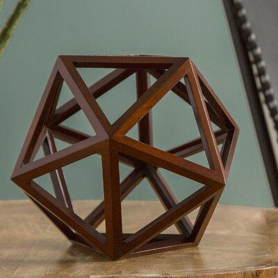 Da Vinci Icosahedron Platonic Sculpture