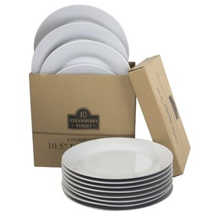 Romer 10.5  Catering Packs Round Dinner Plate (Set of 12)  sc 1 st  Wayfair & Plates u0026 Saucers Youu0027ll Love | Wayfair