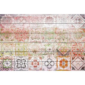 Settat 2' by Parvez Taj Painting Print on White Wood by Mistana