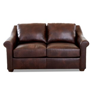 Potrero Leather Loveseat