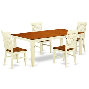 Beesley 5 Piece Black Dining Set By Darby Home Co