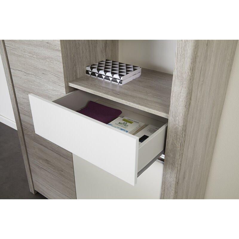 Ebern Designs Bjarne Dishes Accent Cabinet