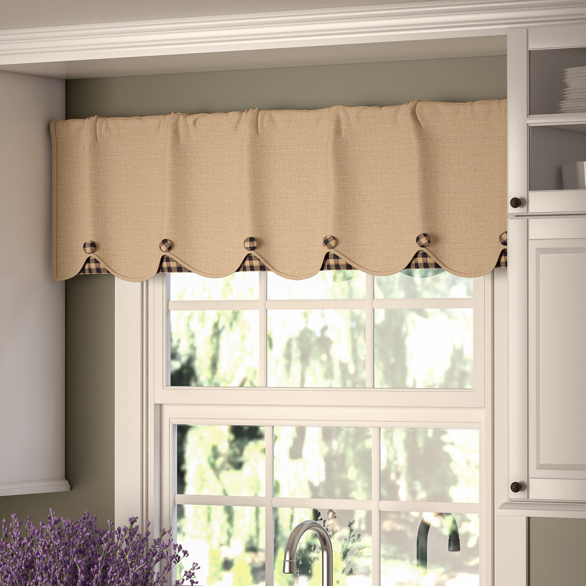 rod carousel and stripes coordinating dots valances large designs pocket trim valance window with patterns accent gray white