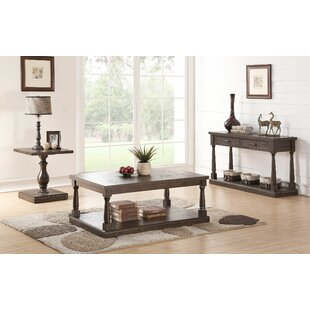 Fortunat 3 Piece Coffee Table Set Laurel Foundry Modern Farmhouse