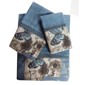 Decorative 3 Piece Towel Set