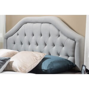Brook Farm King Upholstered Panel Headboard by Alcott Hill