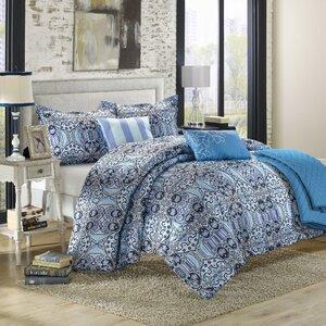 Lynwood 6 Piece Reversible Comforter Set