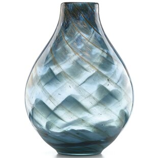 Budget Seaview Swirl Table Vase By Lenox