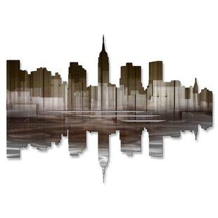 New York City Reflection Iii Wall Décor