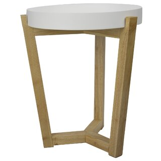 Lowndesboro End Table by Wrought Studio