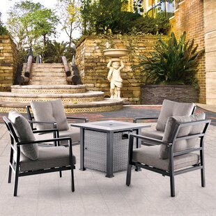 Janelle 5 Piece Conversation Set By Ebern Designs