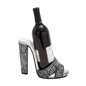 Shoe 1 Bottle Tabletop Wine Rack by Woodland Imports