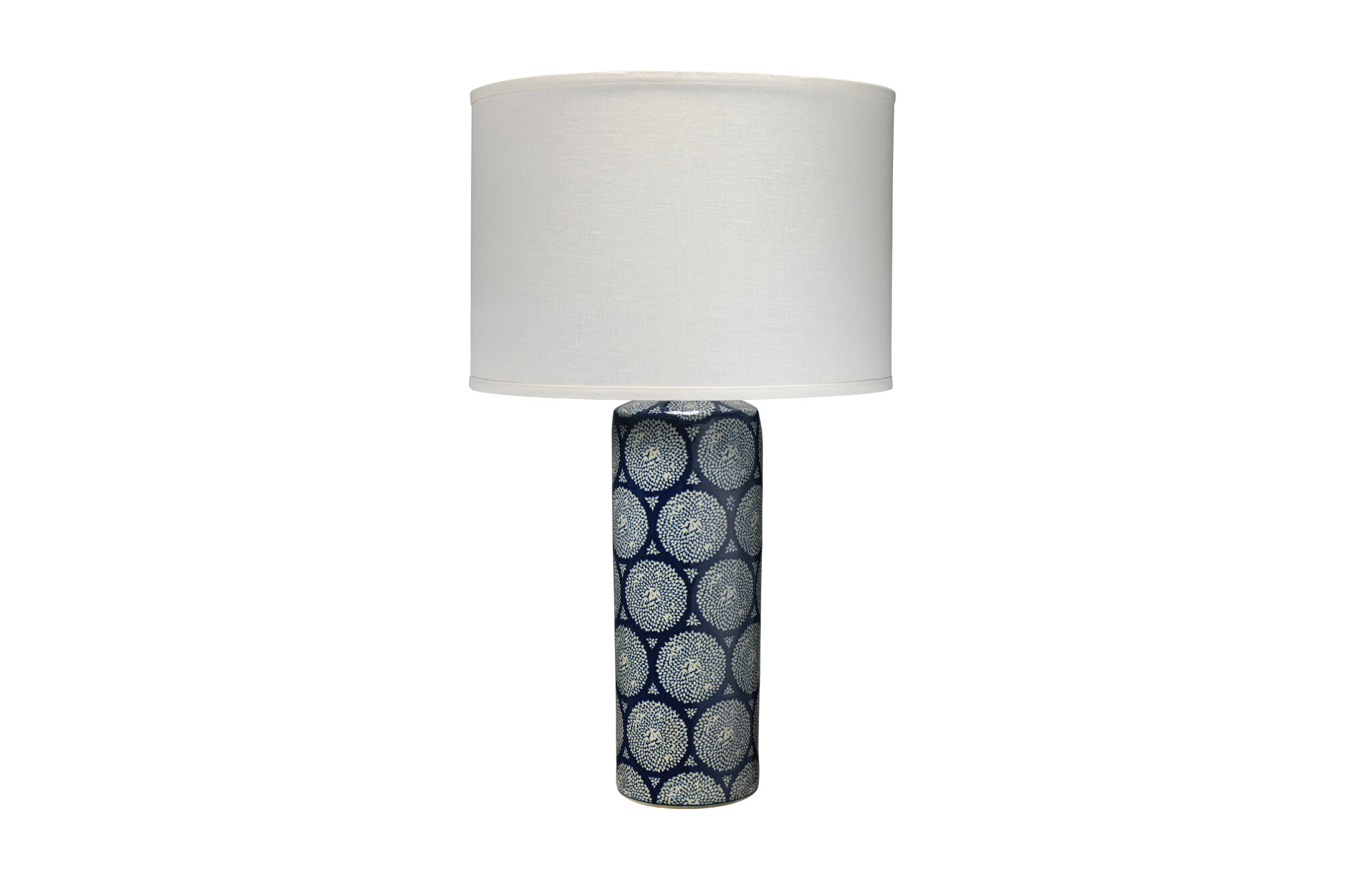 Picture of: Jamie Young Company 28 5 Blue White Table Lamp Wayfair