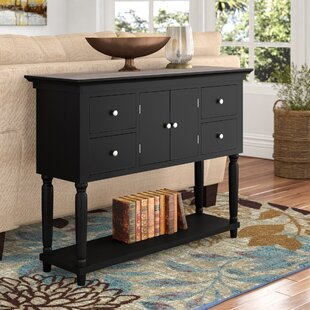 Delvalle 4 Drawer Console Table